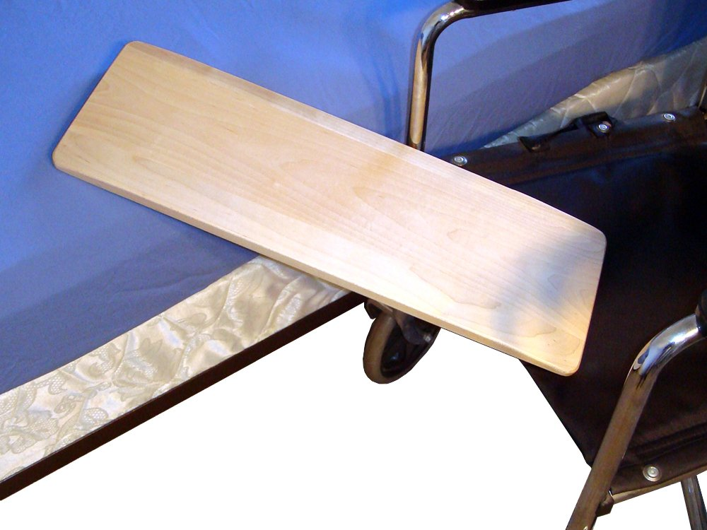 MTS Medical Supply SafetySure Solid Maple Transfer Board, 4 Pounds