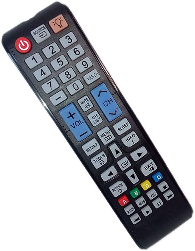 PN51D450A2DXZA OEM Samsung Remote Control Specifically for: PN43D450A2DXZC PL43D451A3D PN43D450A2DXZAB104 PN51D440A5DXZA