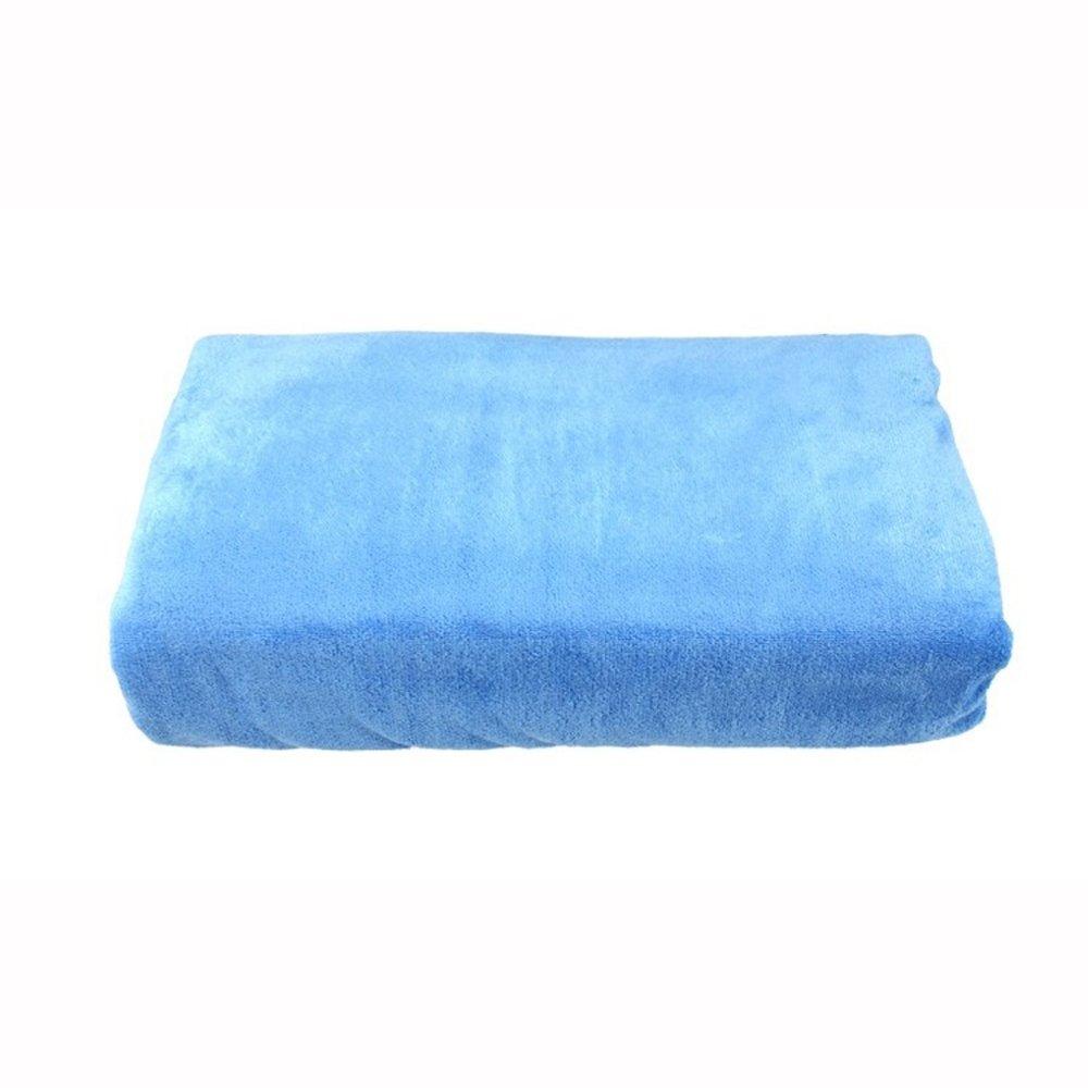 FREELOVE Super Soft Sanding Microfiber Beach Bath SPA Towel 1 piece (24'' x 63'', Blue)