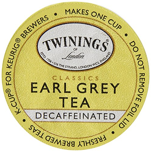 Twinings Earl Grey Decaf Tea K-Cup, 24 Count (Earl Grey Tea K Cups compare prices)