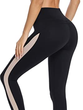 2bf8dba714 Amazon.com : MISS MOLY Women High Waist Leggings Tummy Control Fitness  Workout Running Active Tights Pants Black#1 S : Sports & Outdoors