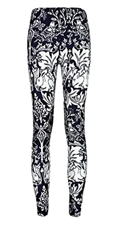 4505a488dde4c Jescakoo Women's Digital Print Ankle Length Leggings S-XXL, Multi-Color at Amazon  Women's Clothing store: