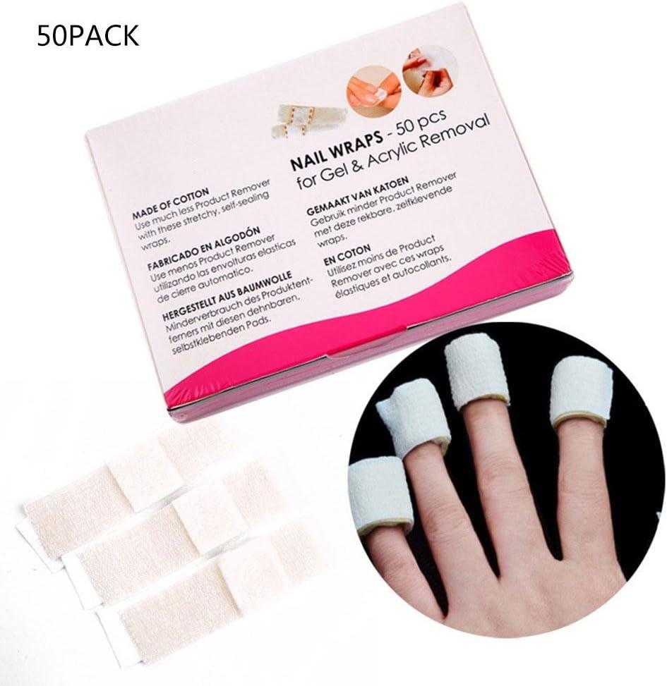 Eliminador de uñas desechable - Almohadillas de acetona para ...
