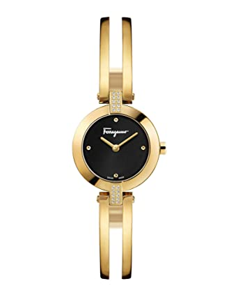 26c5f4045e4d6 Image Unavailable. Image not available for. Color: Salvatore Ferragamo  Womens Ferragamo Miniature Watch FAT080017