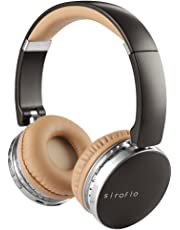 Bluetooth Headphones, Siroflo Wireless Headphones 4.1 Over Ear with MIC, Superb Noise Cancelling, Audio Cable Included, 90°Foldable and 180°Swiveling Soft Memory-Protein Earmuffs for Phone/PC/TV