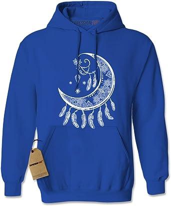Expression Tees Unicorn Moon Crewneck Sweatshirt
