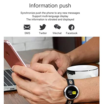 Amazon.com: LU Fitness Tracker IP68 Waterproof Heart Rate Monitor Bracelet Pedometer Waterproof Activity Tracker Support iOS and Android: Sports & Outdoors