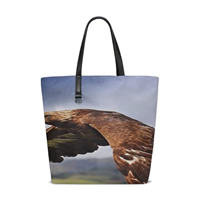 c88ee4a13799 Amazon.com: Rh Studio Tote Bag Eagle Birds Predators Flight Wings ...