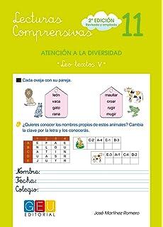 Lecturas comprensivas 11 - Leo Textos V