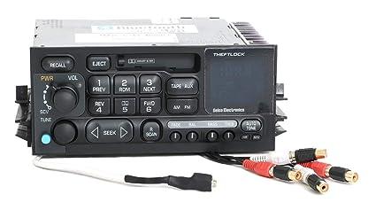 663ac6b49eb4d Amazon.com: 1995-2002 Chevy GMC Truck Van Radio AM FM Cassette Aux ...