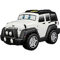 Bb Junior Jeep Touch and Go: speelgoedauto Wrangler Unlimited met motorgeluiden, rijdt met één druk op de knop, vanaf 12…