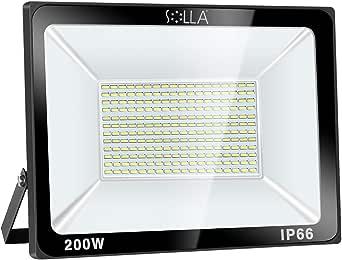 Foco LED 200W IP66 Luz de Seguridad Exterior Impermeable ...