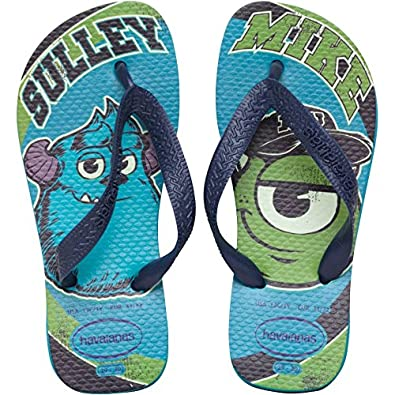 d603bc2dd5e3 Kids Havaianas Monster Inc Flip Flops Capri Blue Childs Junior (29 UK 10-11