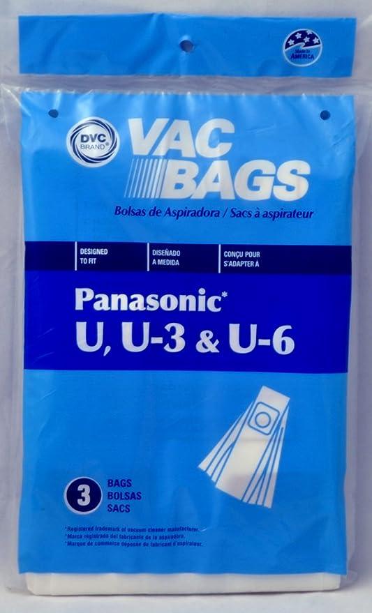 Panasonic Bolsas de Aspirador Vertical, DVC Repuesto, diseñado ...