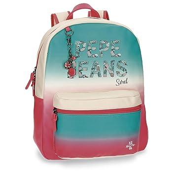 Pepe Jeans 6542351 Nicole Mochila Escolar, 42 cm, 21.5 litros: Amazon.es: Equipaje