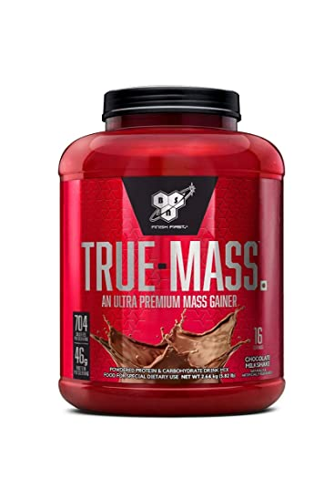Fin BSN True Mass Weight Gainer Whey Protein Powder with BCAA's and AK-27