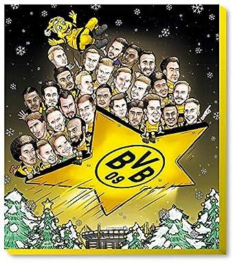 Fairtrade Adventskalender 2020 BVB 09 Kalender Weihnachten Borussia Dortmund /€ 9,95//100g