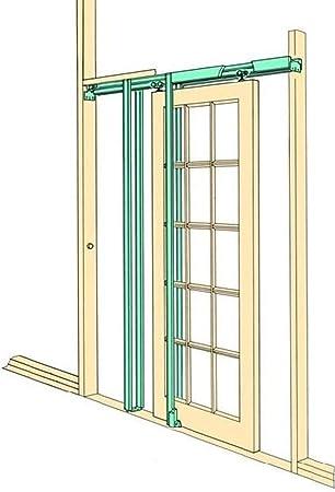 T-Mech Kit para Puertas Correderas Ocultas de Fácil Instalación Decoración Interiores: Amazon.es: Bricolaje y herramientas