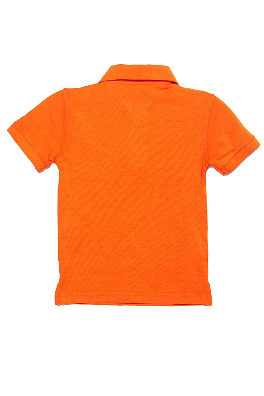 Kids Boys Tommy Solid Short Sleeve Polo Shirts tommyboyspolo S , Orange 8