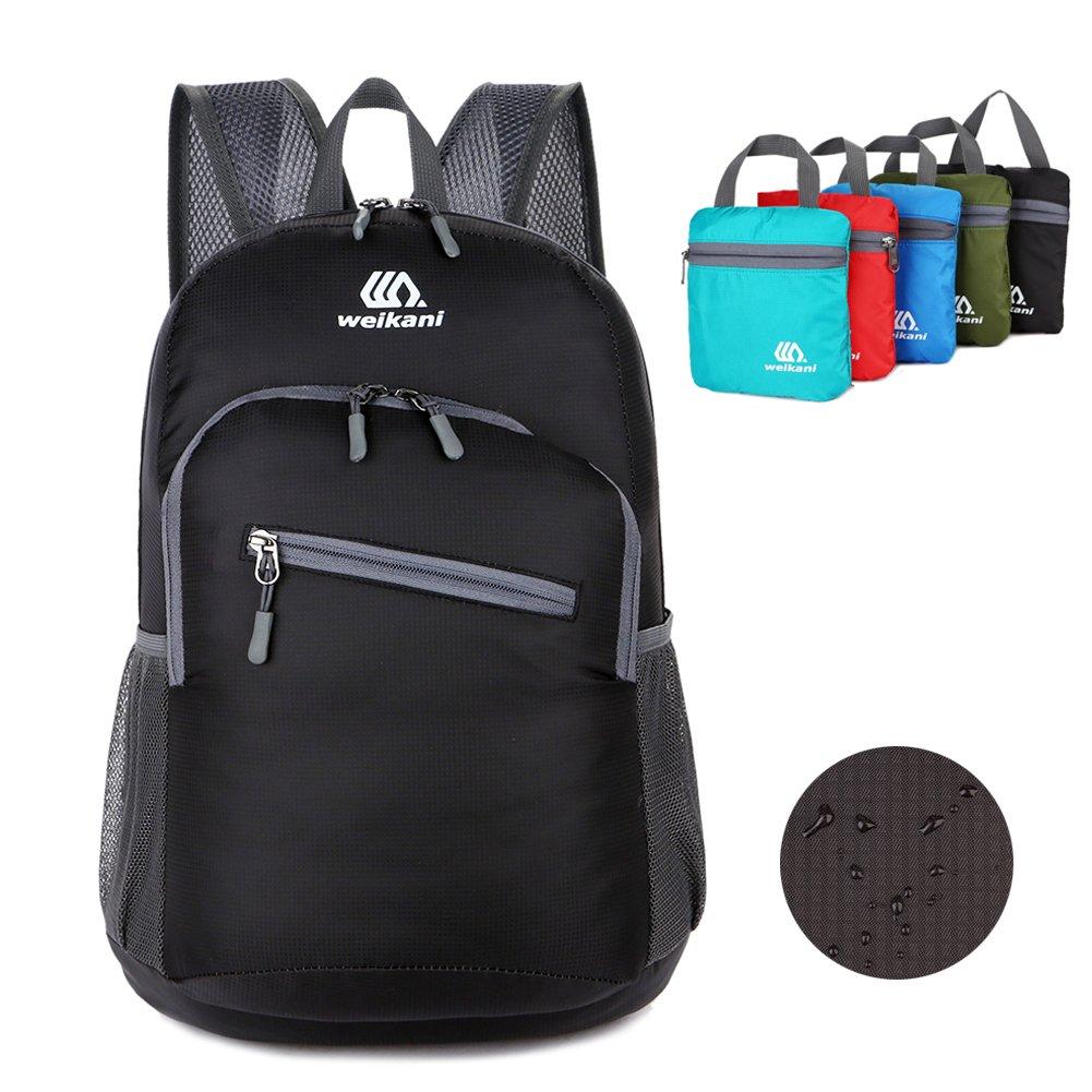 f95ef0b9e36c 18L Ultralight Packable Backpack Foldable Daypack Lightweight Men Women  Rucksack Waterproof for Outdoor Sport Hiking Travel Camping Biking