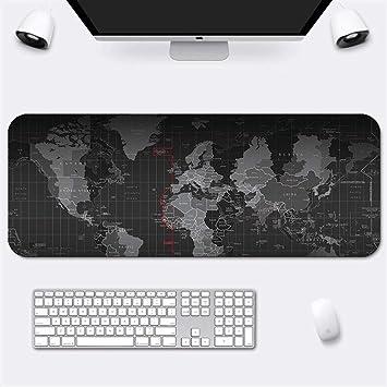 Alfombrilla de ratón gran mapa del mundo tapete de ratones ...
