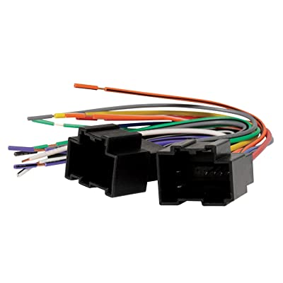 SCOSCHE HY09B Car Speaker Wiring Harness Connector Kit Compatible for 2007 to 2009 Hyundai Santa Fe and 2007 to 2009 Kia Sorento,black: Car Electronics