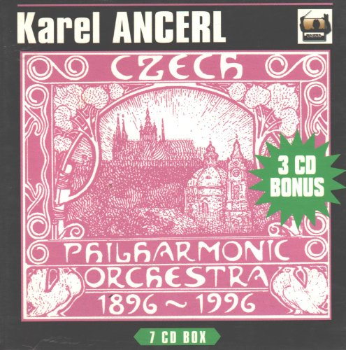 Karel Ancerl & The Czech Philharmonic Orchestra (Century Gold Music Box)
