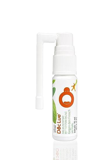 DocLue® Gegen Den Frosch Im Hals | Patentierte Wirkstoffformel Mit  Tiefenwirkung | Atemfrische | Heiserkeit