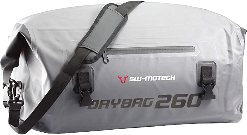 Sw Motech Drybag 260 Hecktasche 26l Grau Schwarz Wasserdicht Auto