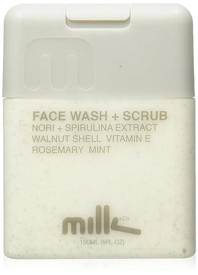 ea88c153 Amazon.com: Milk & Co. Men's Natural Face Wash and Scrub, 5 Fluid ...