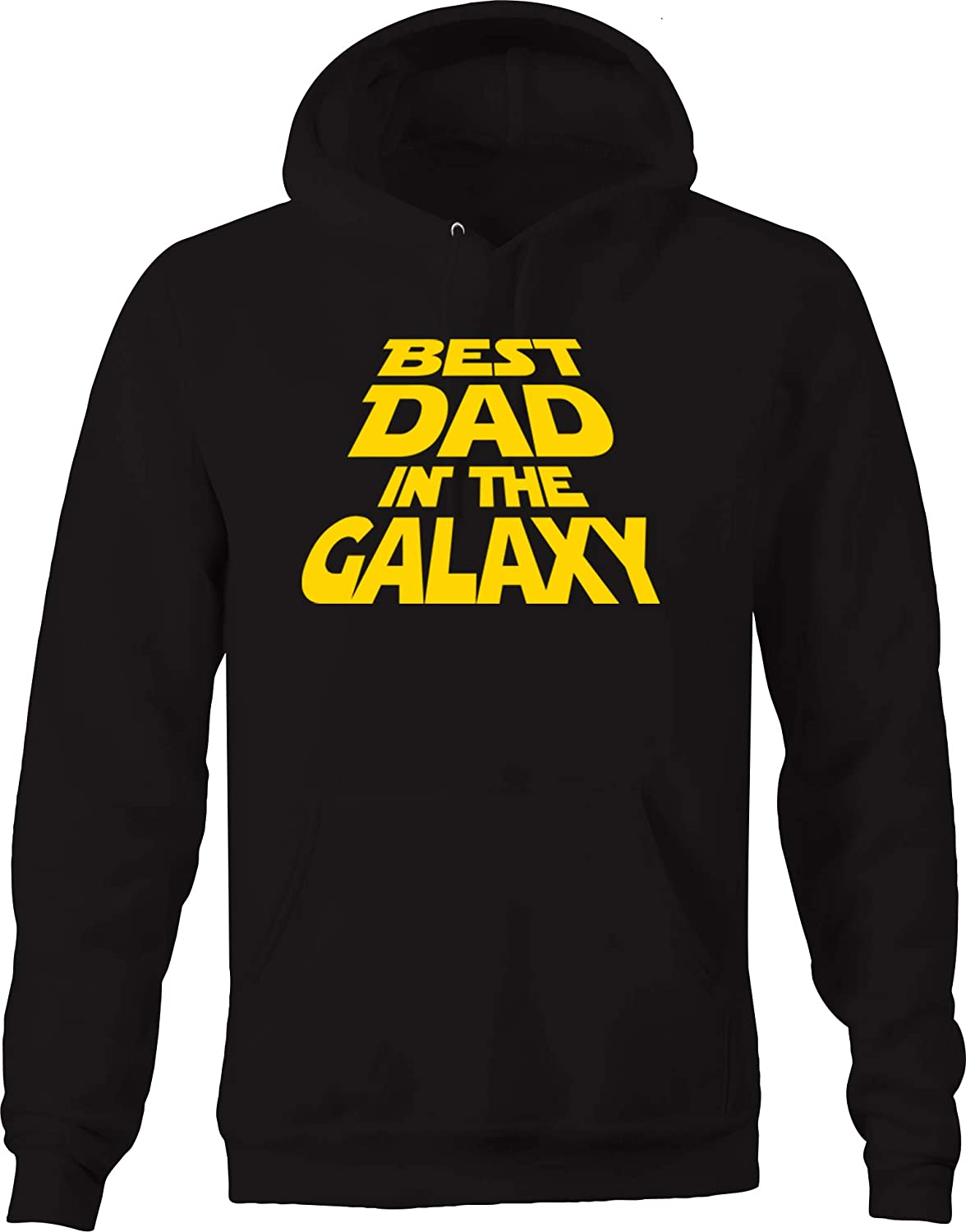 Best Dad in The Galaxy Space Funny Father Husband Mentor Teacher Hoodies for Men
