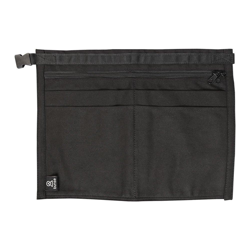 Black, Qty: 5 Bunse Coloured Denim 6 Pocket Market Trader Money Belt
