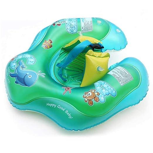 FOONEE - Flotador Hinchable para bebé, Ajustable con Doble ...