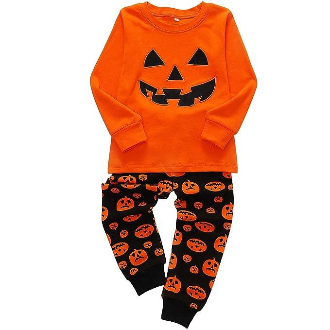 Amazon.com: DGAGA - Juego de ropa de dormir para niños y ...