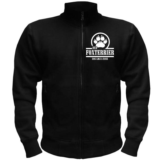 Hombres y chaqueta para hombre Fox Terrier Boss (con espalda ...