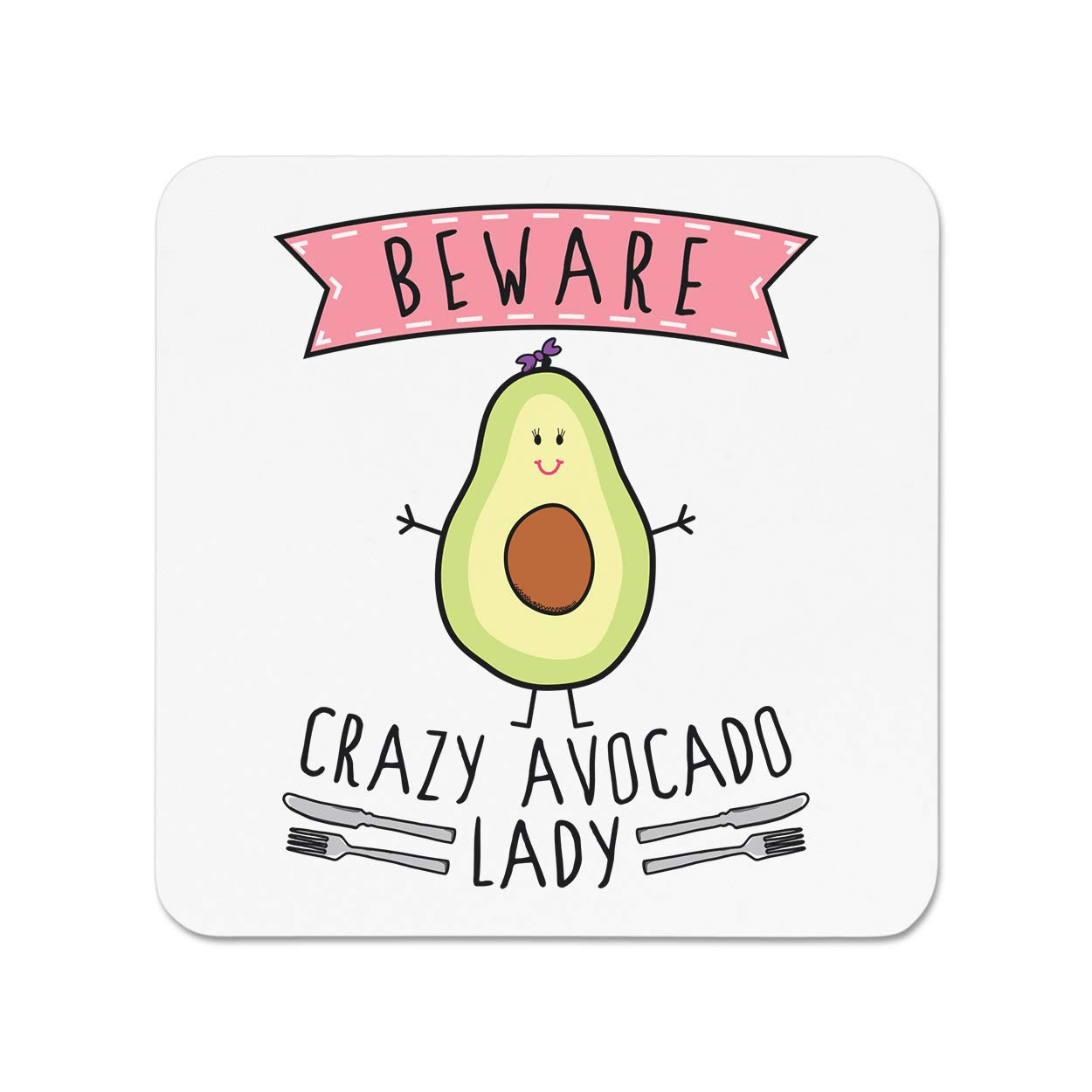Gift Base Beware Crazy Aguacate Lady Imán Nevera: Amazon.es: Amazon.es