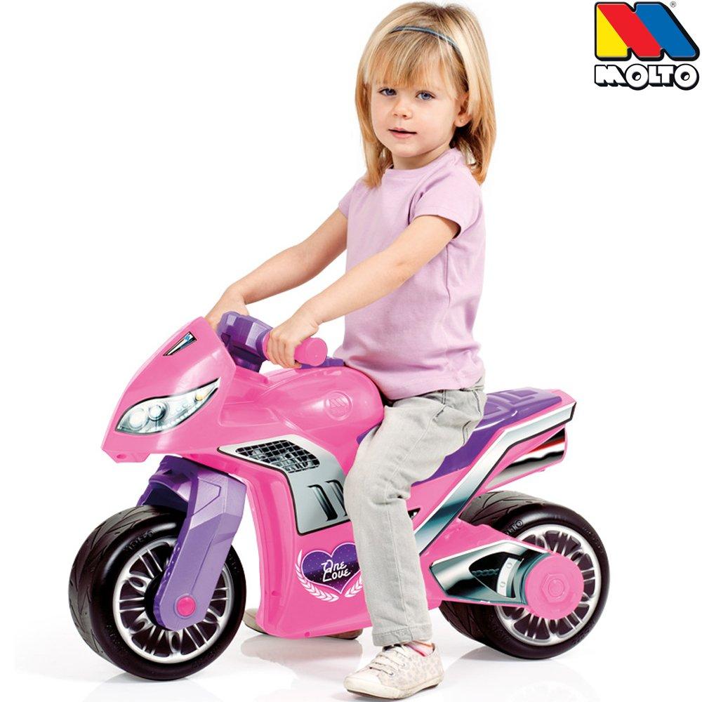 Scooter Mädchen - Molto Rutschermotorrad Rosa