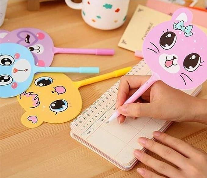 6 Piezas Forma de Píldora Bolígrafos Mini Cara Sonriente Retráctil Bolígrafo Artículos de Papelería Color al azar por SamGreatWorld
