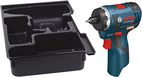 Bosch PS22BN Bare-Tool 12-volt Max Brushless Pocket Driver with Insert Tray for L-Boxx