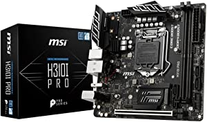 MSI Pro Series Intel Coffee Lake H310 LGA 1151 DDR4 Onboard Graphics Mini ITX Motherboard (H310I PRO)