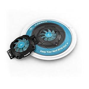 Vantec iCEBERQ Hard Drive Cooler HDC-6015 (Black)