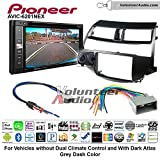 Pioneeer AVIC-6201NEX Double Din Radio Install Kit with GPS Navigation Apple CarPlay Android Auto Fits 2008-2012 Honda Accord (Dark Atlas Grey)