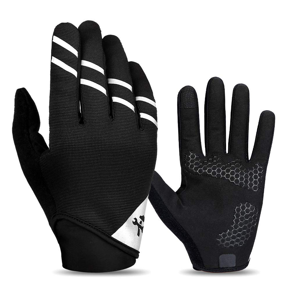 SJZC Handschuh/Fahrradhandschuhe/Rutschfeste Motorrad Winter MäNner Und Frauen Winddichter Werkzeughandschuh