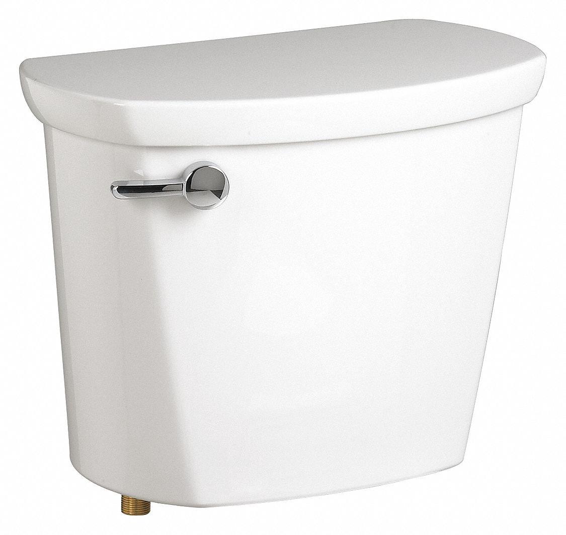 AMERICAN STANDARD Toilet Tank Left Hand Gravity Fed 1.6 gpf