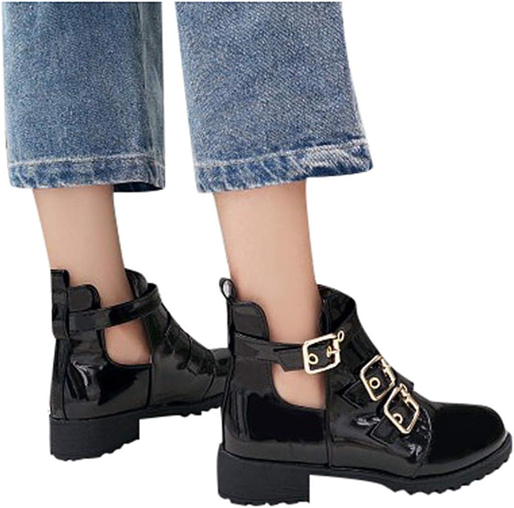 Haomigol Women's Ankle Bootie