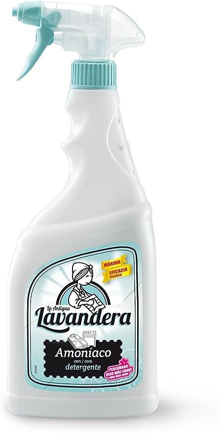 La Antigua Lavandera Spray Limpiador Amoniaco - 8 Recipientes de ...