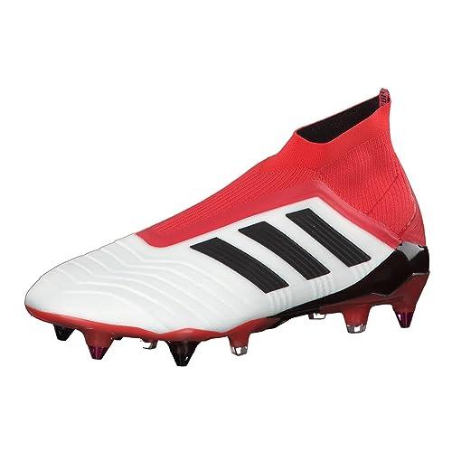 adidas Predator 18 SG, Scarpe da Calcio Uomo, Bianco Ftwwht/Cblack/