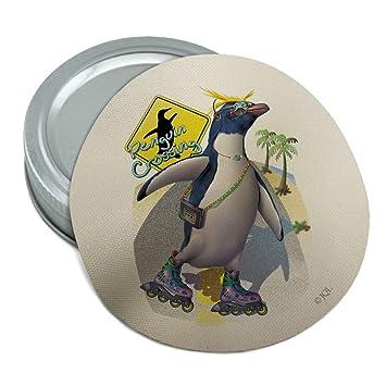 Penguin Crossing - Gafas de sol redondas de goma ...