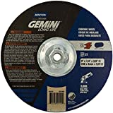 Norton 66253049104 9x1/4x5/8 - 11 in. Gemini Depress Center Wheels, Al