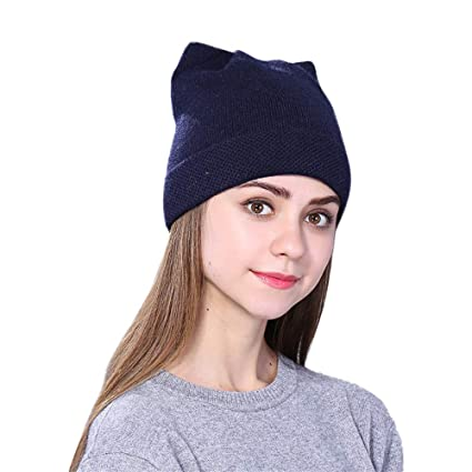 921fc24ff6a Tpingfe Men Women Baggy Warm Crochet Winter Wool Knit Ski Beanie Skull  Slouchy Caps Hat (